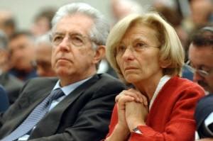 © Gian Mattia D'Alberto - LaPresse 09-05-2007 Milano varie economia forum Economia e società aperta nella foto: Emma Bonino e Mario Monti