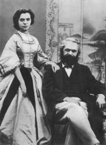 Jenny and Karl Marx.