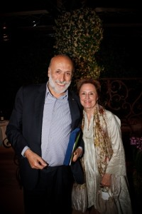 Carlo Petrini and Alice Waters