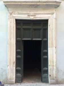The new gallery in Rome in Trastavere