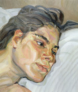 Lucian Freud, Esther, 1982-83, oil on canvas, 36 x 31 cm, Private Collection, © the Artist.