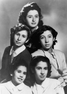 The Five Fendi Sisters
