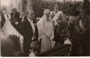 Prince Christopher of Greece + Denmark & Princess Francoise of Orleans (1929)