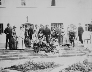 Family photograph of Danish, Russian and British royal families. 1884.