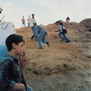 Yto Barrada, Ceuta Border, 1999. Courtesy Sfeir-Semler Gallery, Hamburg/