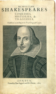 4. Shakespeare William Shakespeare (1564–1616). Mr. William Shakespeares Comedies, Histories, & Tragedies. London: Isaac Jaggard & Edmund Blount, 1623. PML 5122. Purchased by Pierpont Morgan with the Toovey collection, 1899.