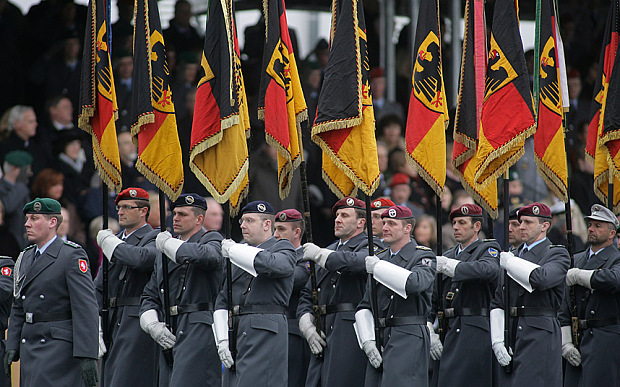 German army uniform today