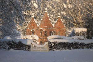 My country house in winter