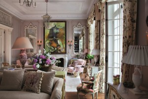 Drawing room in Holland Park, London