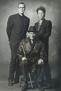 Robert Wilson, Tom Waits and William Burroughs Photography by: Ralf Brinkhoff, 1993