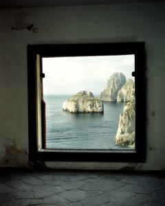View from Casa Malaparte in Capri photographed by François Halard