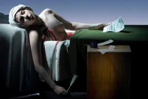 Lady Gaga x Robert Wilson - The Death of Marat