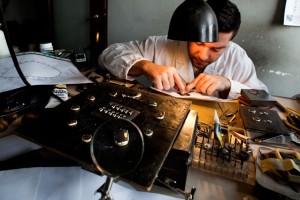 Buccellati workshops in Milan.