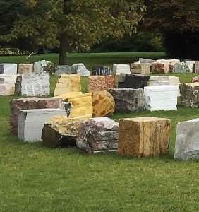The sculpture will represent all UN Members States united in the rebirth symbol. The stones will be left rough and be of a size between 30- 50 centimetres of height, length and width. As one stone from each country will be included in a sculpture, the name of the country will be engraved on the stone.