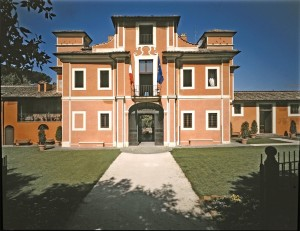 Villa Carpegna, the imposing home of the Rome Quadrennial.