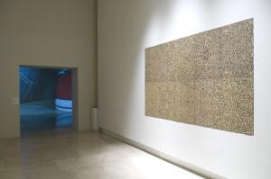 The Rome Quadrennial Exhibition 2008. From the Left, works by Daniele Puppi and Franco Pozzi.