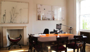 il mio studio all'IIC di belgrave sq