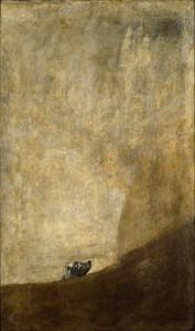 "Simon's ""Musée Imaginaire"": Half-submerged Dog, Francisco Goya (Museo Nacional del Prado)"