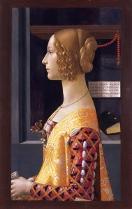 "Simon's ""Musée Imaginaire"": Portrait of Ghirlandaio Giovanna by Domenico Tornabuoni (Museo Thyssen-Bornemisza)"
