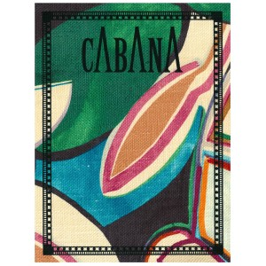 Cabana Issue Four with Cover in Dedar Fabric
