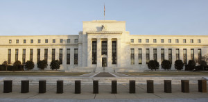 The Federal Reserve Building in Washington.