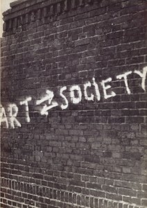 """Cover of catalogue for ICA exhibition """"Art into Society – Society into Art: Seven German Artists"""""""
