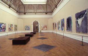 Installation of A New Spirit in Painting at the Royal Academy, 1981.