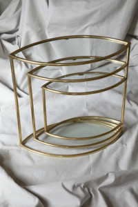 Brass - Eye Leaf Table closed