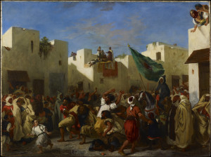 Eugène Delacroix Convulsionists of Tangier, 1837-8 Oil on canvas 97.8 x 131.3 cm © The Minneapolis Institute of Art Bequest of J. Jerome Hill 73.42.3
