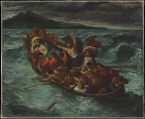 Eugène Delacroix Christ on the Sea of Galilee, 1853 Oil on canvas 50.8 x 61 cm © The Metropolitan Museum of Art, New York H. O. Havemeyer Collection, Bequest of Mrs. H. O. Havemeyer, 1929 (29.100.131)