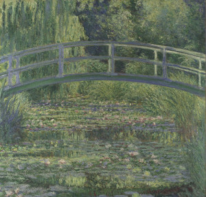 Claude-Oscar Monet The Water-Lily Pond 1899 (c) National Gallery, London