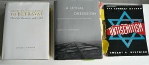 Three books of Prof. Dr. Robert S. Wistrich