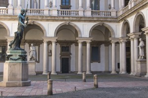 The Courtyard at Brera
