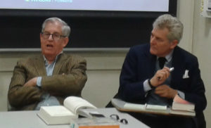 Discussing Primo Levi at Penn.