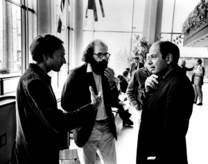 With Alan Ginsberg