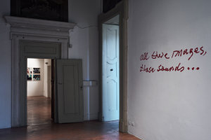 Jonas Mekas_All these images, these sounds_installation view. ph Alessandro Speccher