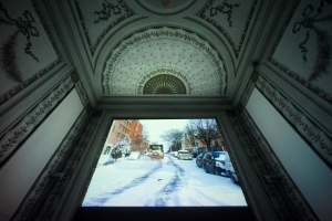 Jonas Mekas Online diaries installation views photo Alessandro Speccher