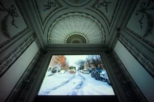 Jonas Mekas Online diaries installation views photo Alessandro Speccher
