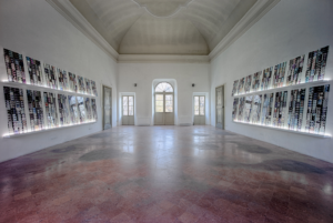 Jonas Mekas. In an Instant It All CAme Back to Me. Installation View. Photograph by Alessandro Speccher