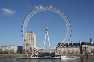 The London Eye and former County Hall