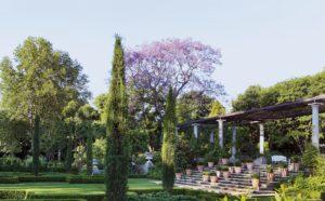 Pergola & Parterre, Garden of St Christopher, Hyde Park Design Debby Tenquist, Photograph Elsa Young