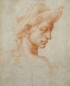 Ideal Head Michelangelo Buonarroti: Ideal Head © Ashmolean Museum, University of Oxford