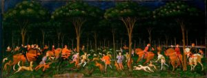 Paolo Uccello: The Hunt in the Forest © Ashmolean Museum, University of Oxford