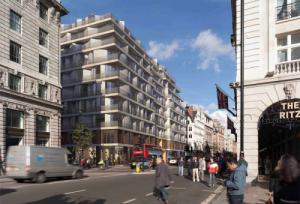 70-73 Piccadilly, London is a residential project that comprises retail, hotel and luxury apartments.