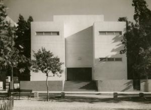 Tel Aviv Museum, newly renovated, February , 1936, Meir Dizengoff`s Personal Collection, Eretz-Israel Museum, Tel Aviv