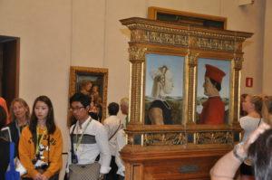 Uffizi, Sala di Piero della Francesca