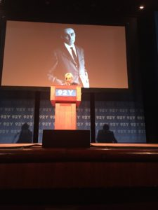 Renzo Levi at 92nd Street Y
