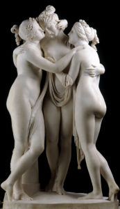 Antonio Canova The Three Graces, 1814-17 Marble Victoria and Albert Museum, London and National Gallery of Scotland, Edinburgh. Art Fund assisted in 1994.