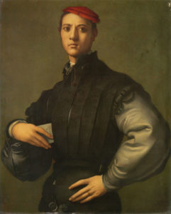 The Pontormo painting which is the subject of the £31 million fund raiser by the National Gallery.