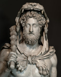 Bust of Commodus as Hercules, AD 190 Marble Capitoline Museum, Rome